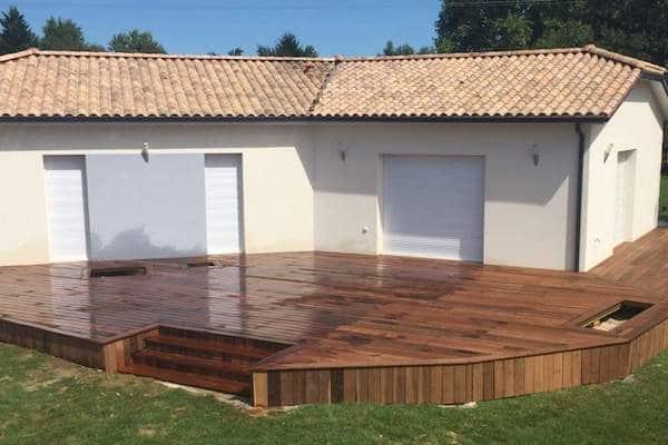 Terrasse bois ou Terrasse Carrelée Groupement Artisans Conseils 33 Bordeaux Bassin Arcachon